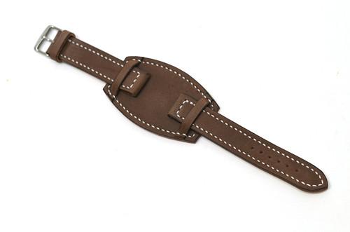 Kožený pásek na hodinky