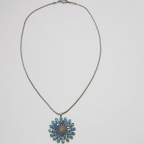 Štrasový náhrdelník a naušnice F41