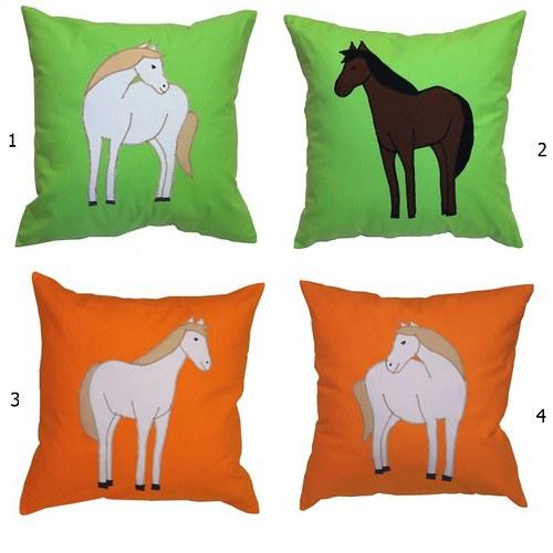 Povlak na polštářek - Kůň