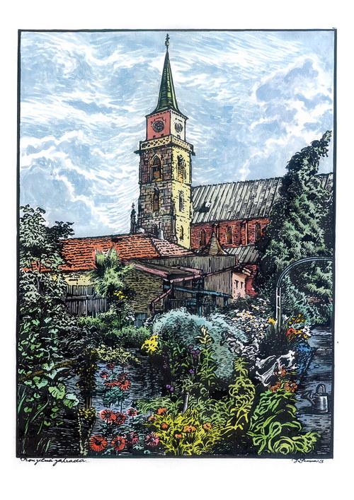 Jan Severa - Kouzelná zahrada
