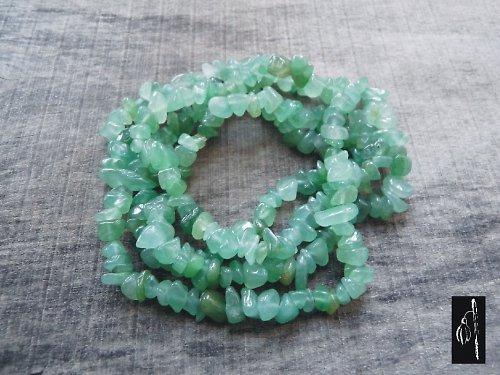 Avanturín zelený, návlek cca 20 cm