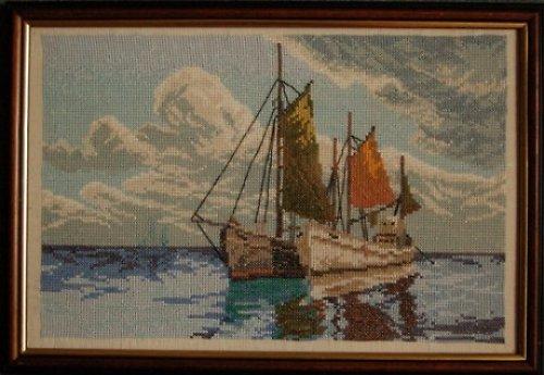 Lodě na moři