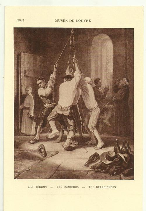 Umělecká pohlednice A.G.Decamps