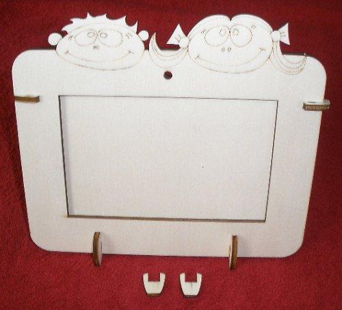 2v1 rámeček na šířku fota 10x15cm-KLUK+HOLKA