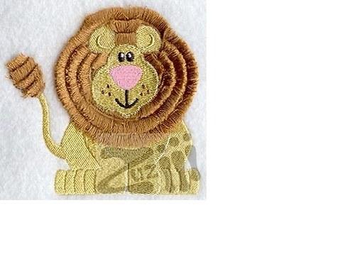 Dětské tričko se lvem střapatým chlupatým:)