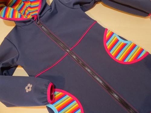 Softshellový kabátek pro malé slečny č. VI.