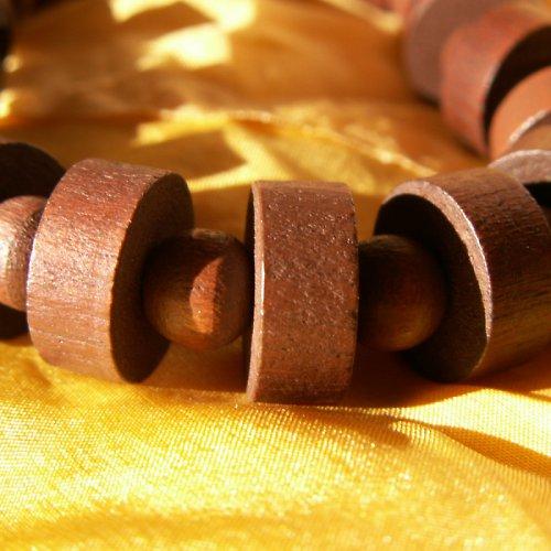 dřevěný náramek