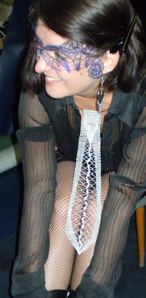 Podvinek - kravata Stříberka