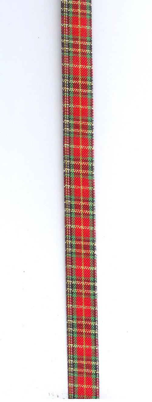 Stuha textilní vánoční