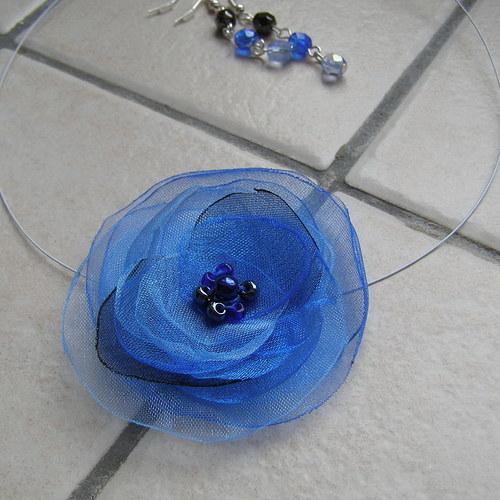 Modrý květ sada SLEVA!