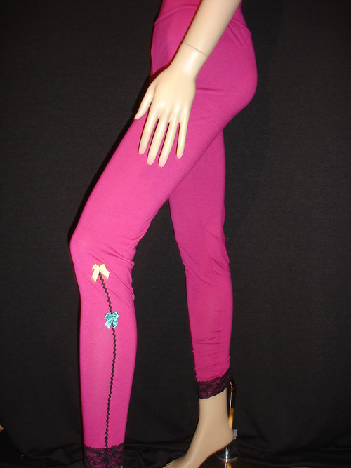 """leggings pink \""""Spassig\"""" ultradlouhé vel.38"""