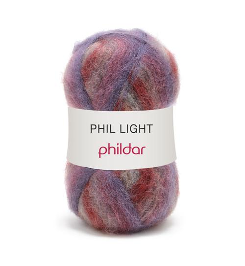 Phil Light Amethyste 3 klubka na svetr