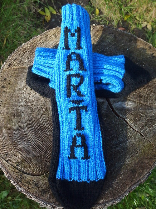 Ponožky se jménem na Vaše přání