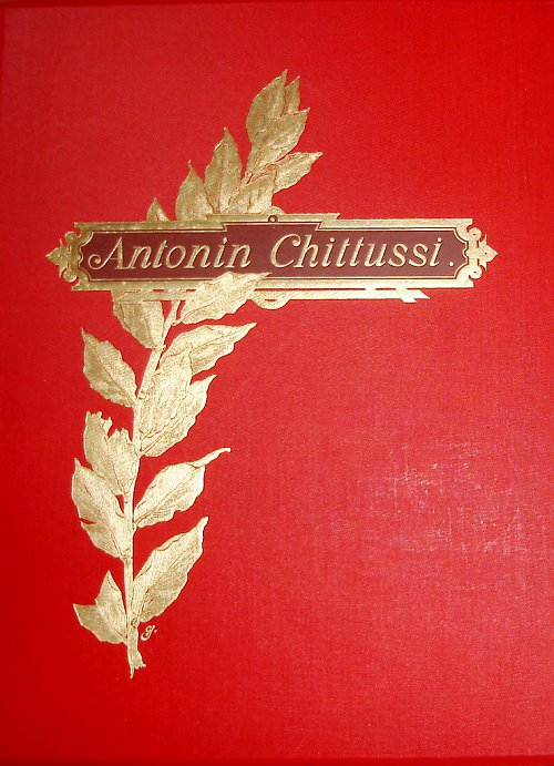 Antonín Chitussi /monografie 1896/