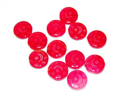 tvarovka placička červená