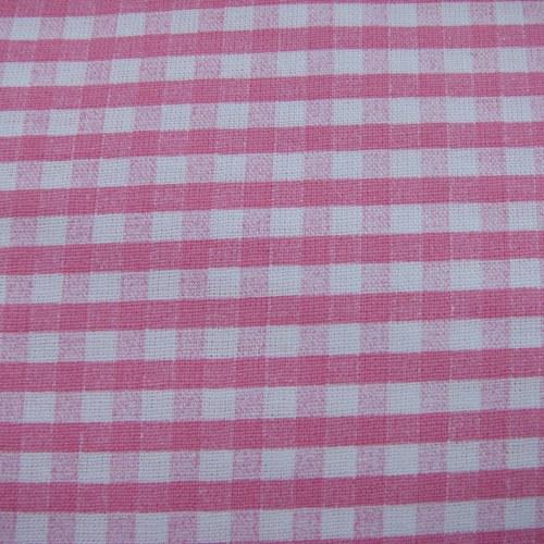 látka 100% bavlna - růžová kostička