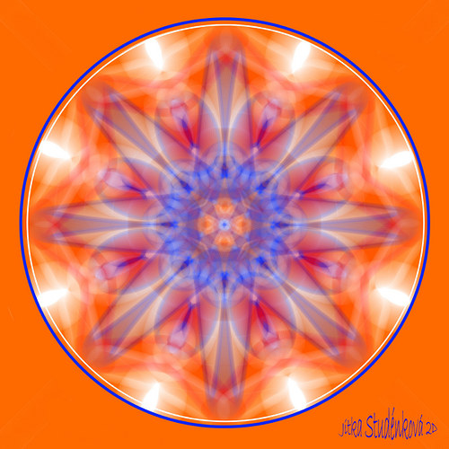 Mandala č.8 - Povzbuzení