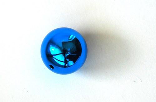 Kulička lesklá 20mm - modrá