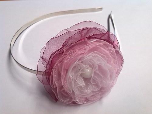 Kouzelná čelenka růžová