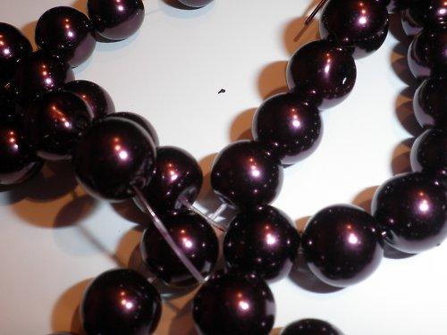voskované perle 10mm, 6 ks