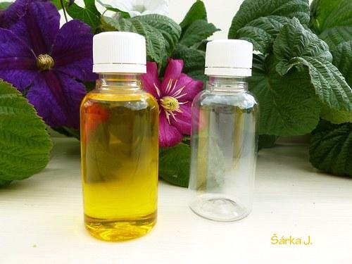 plastové lahvičky s uzávěrem -  50 ml
