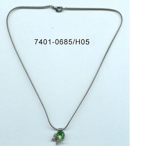 Štrasový náhrdelník F51