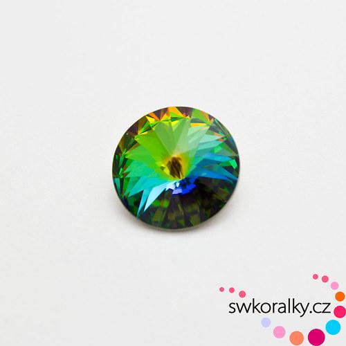 RIVOLI 12 mm SWAROVSKI ® ELEMENTS -vitrail medium
