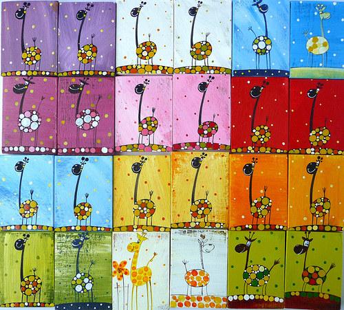 zvířecí občanský průkaz - pro žirafy