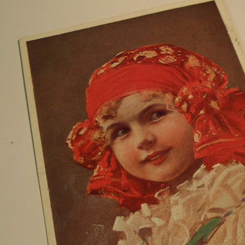 Muttich NAŠE DĚTI - pohlednice č. 1148