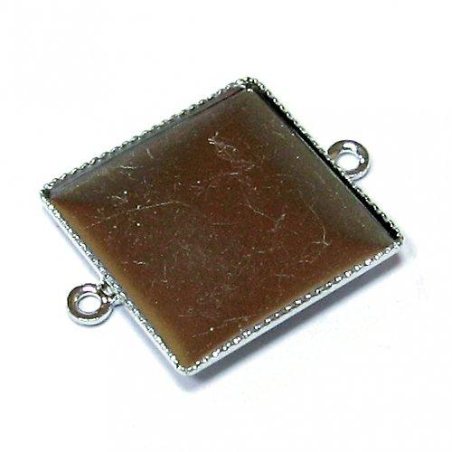 Lůžko čtverec 17 mm - 2 oka