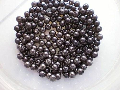 Voskované perličky 4 mm  10g