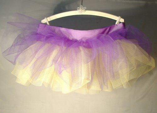 Sukně fialovo/žlutá - na objednávku