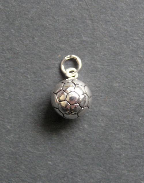 Fotbalový míč - stříbrný přívěsek