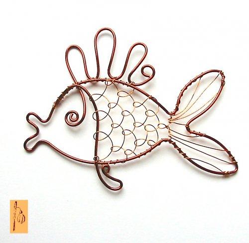 Vánoční rybička - pankáč :-)