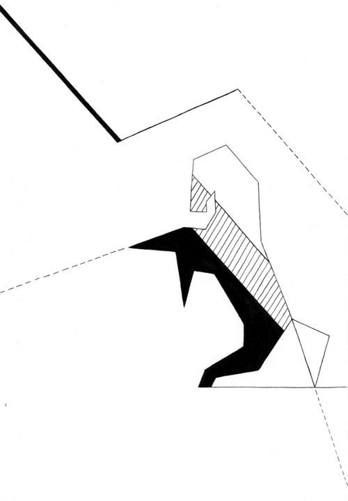Le Cheval Géométrique - Étalon