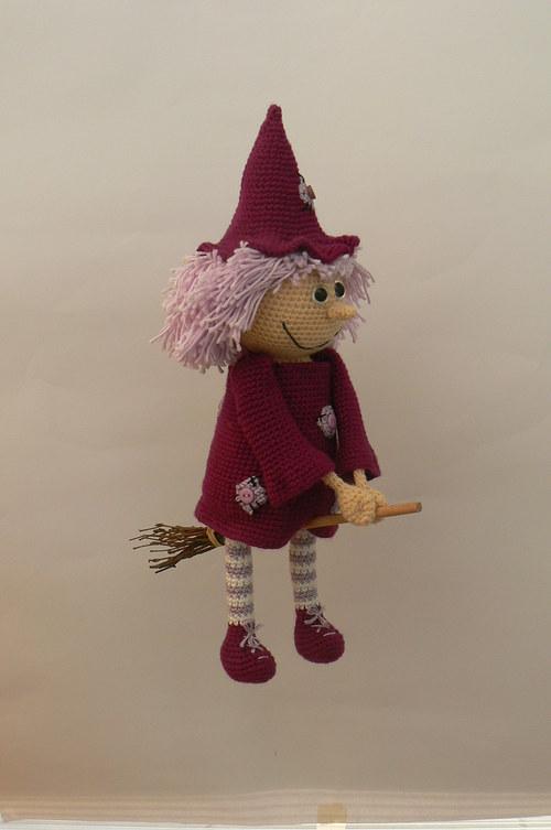 Návod na háčkovanou čarodějku
