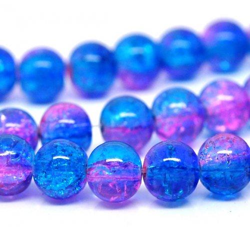 práskačky modro-růžové 8mm/10ks