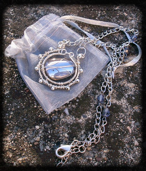 """náhrdelník \""""Frozen tears\"""""""