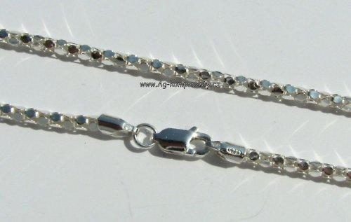 Stříbrný řetízek Ag 925/1000,40 cm