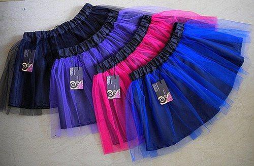 MICHELLE - Tylová sukně