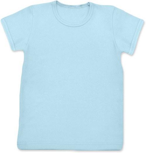 Dětské Uni tričko KR světle modré