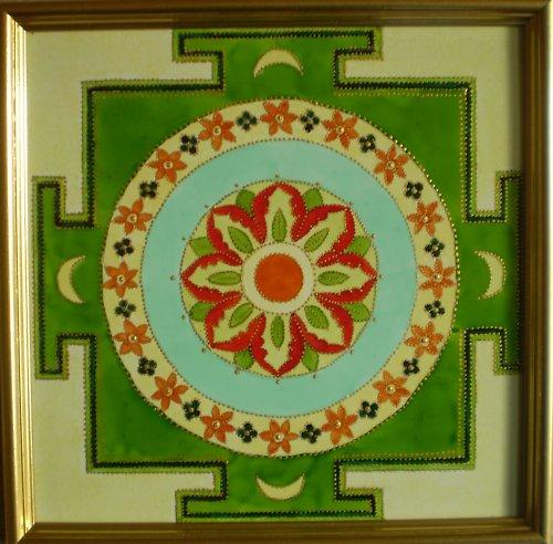 Indická jantra - Jantra kruhu