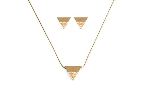 LITI set Earrings & Necklace