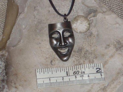 Přívěsek-Divadelní maska