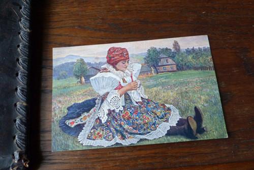 J. Jáchym- Velikonoční pozdrav...stará pohlednice