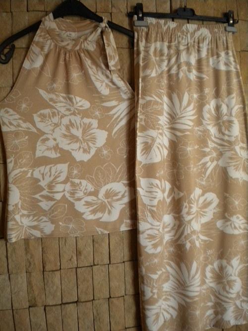 Letní top s dlouhou nebo krátkou sukní -SLEVA