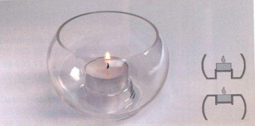 Baňka na čajovou svíčku