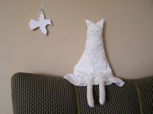 Gréta. Kočičí panenka.