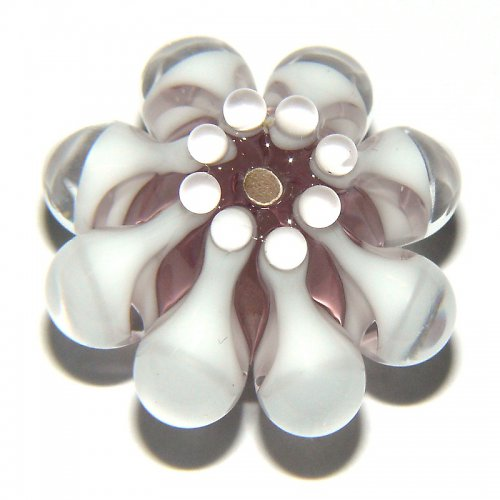 Vinutá perle - EXKLUZIV - ametyst světlý