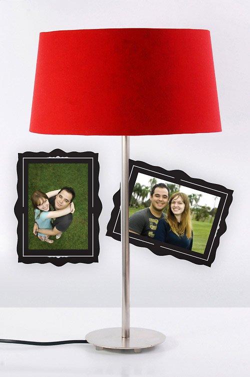 Rámeček na fotografie 9x13 cm - samolepka na zeď